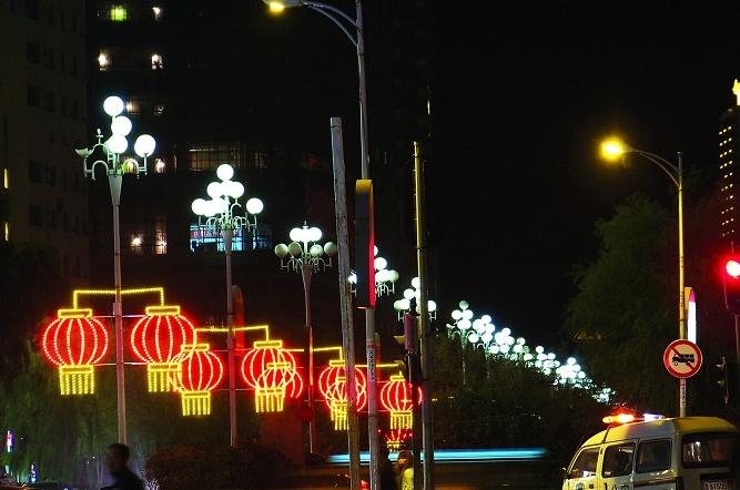 2019年10月中山道路照明项目施工完毕...