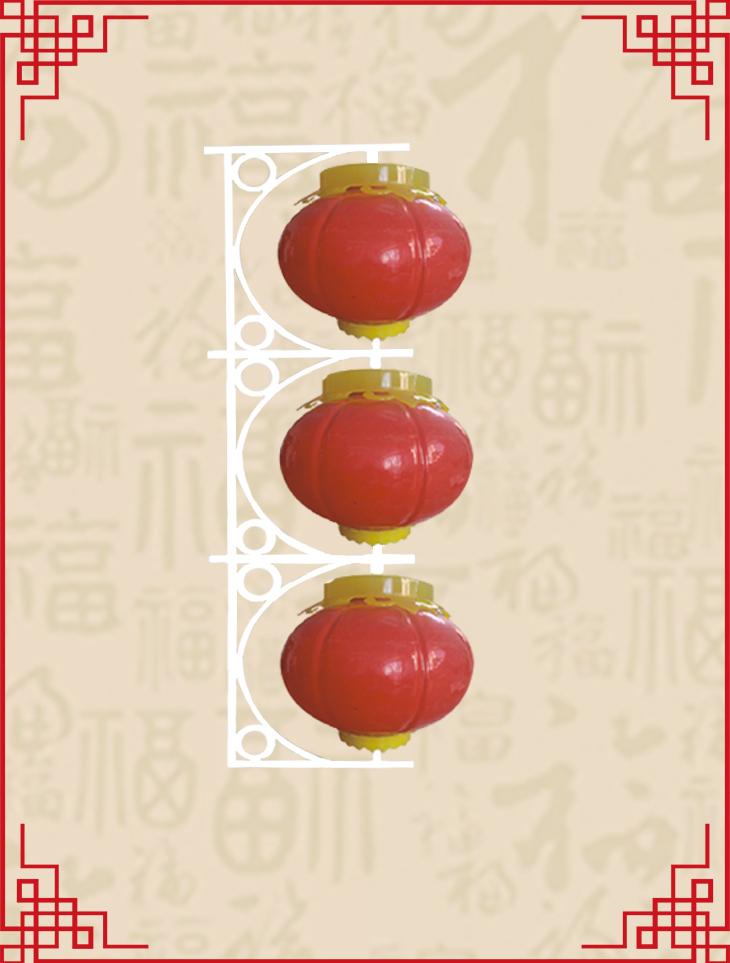 三连串圆灯笼系列1