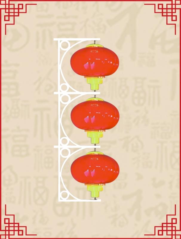 三连串圆灯笼系列3