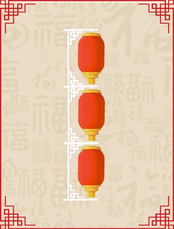 350mm冬瓜灯笼